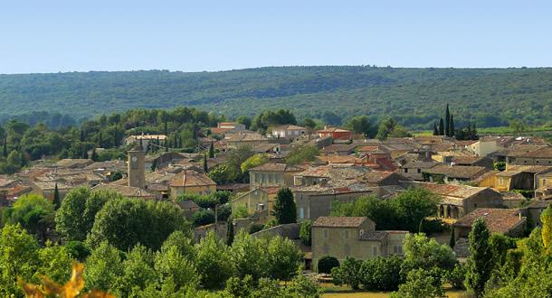 village de Vallabrix